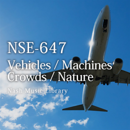 NSE-647 Vehicles/Machines/Crowds/Nature