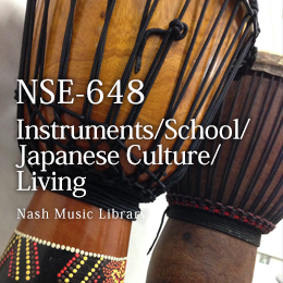NSE-648 Instruments/School/Japanese Culture/Living